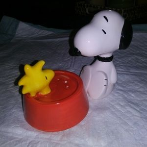 Snoopy and Woodstock salt and pepper skakers